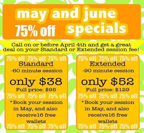 May:june specials