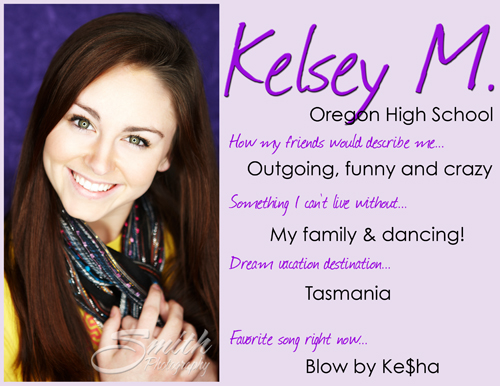 Kelsey Oregon 4 quick